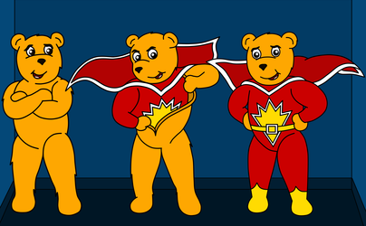 Superted's Transformation