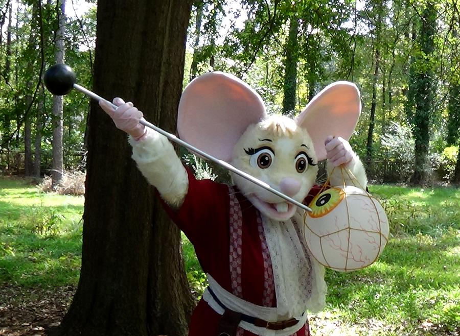 Fierce Mouse!
