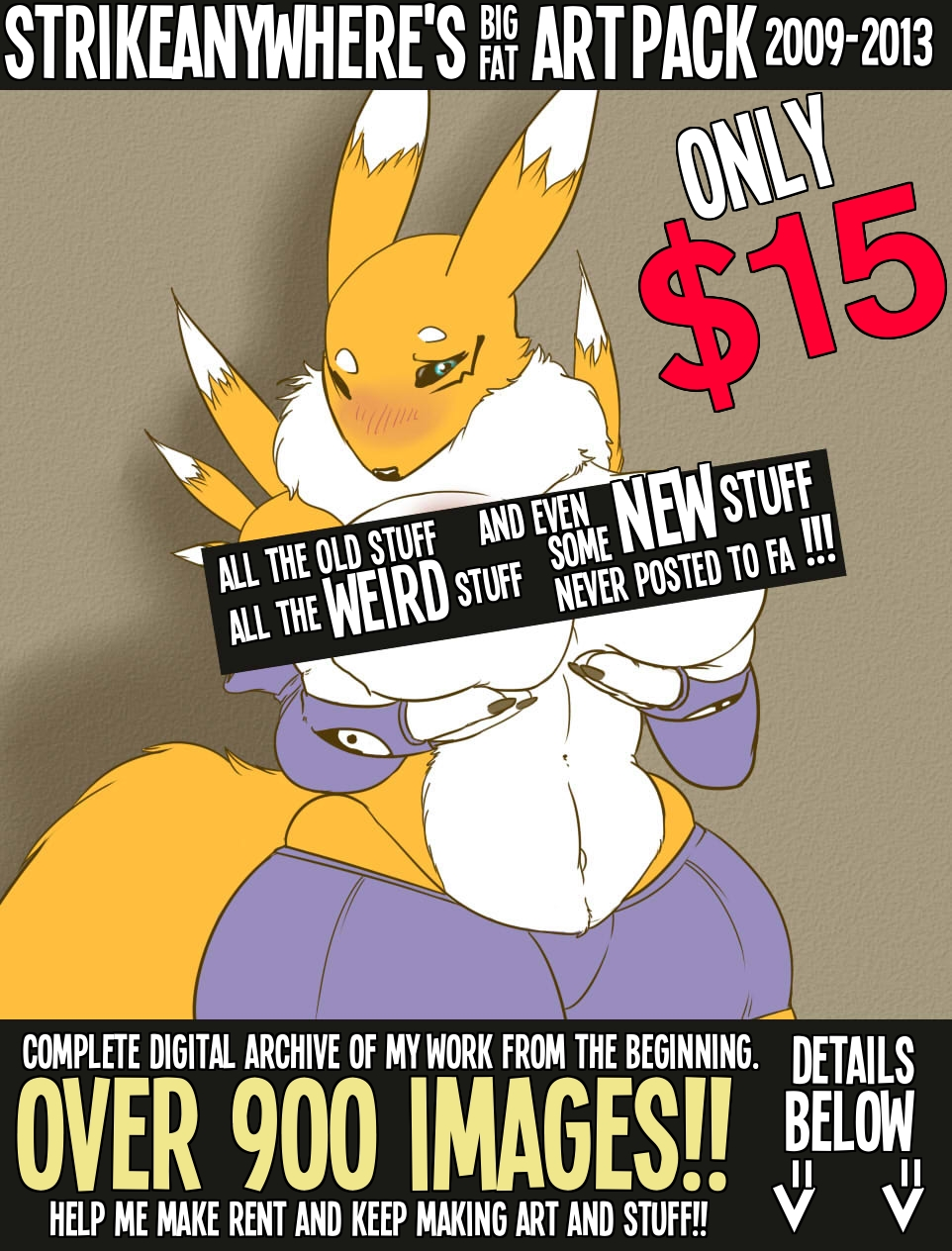 Most recent image: BIG FAT ART PACK - Sale Continues