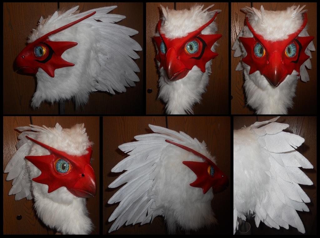Blaziken Mask