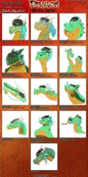 Dragon Style Meme Colored