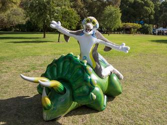 Subduing the inflatosaur