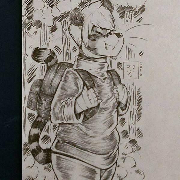 Tiger Dude Goin' On A Nature Hike