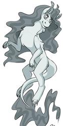Ko-fi dragon sketch