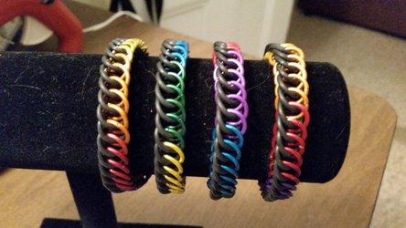 Rainbow Half Persian Bracelets