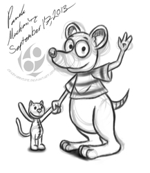 Toop and Binoo (commission)