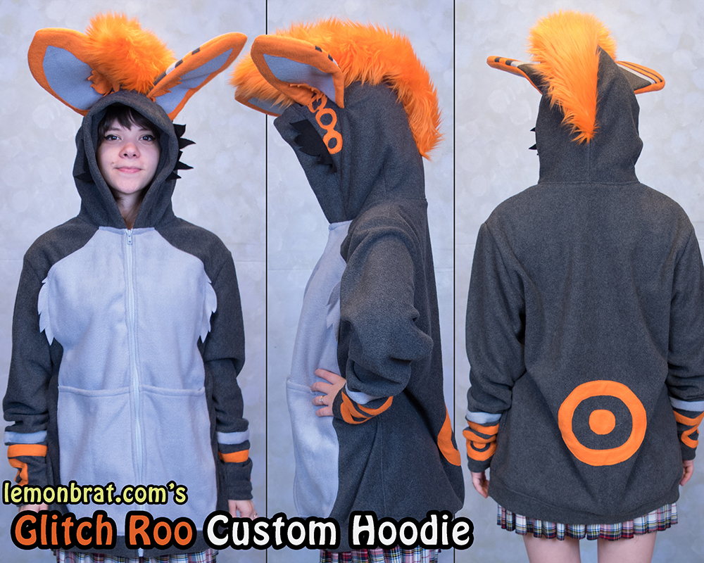 Glitch Roo Custom Collage