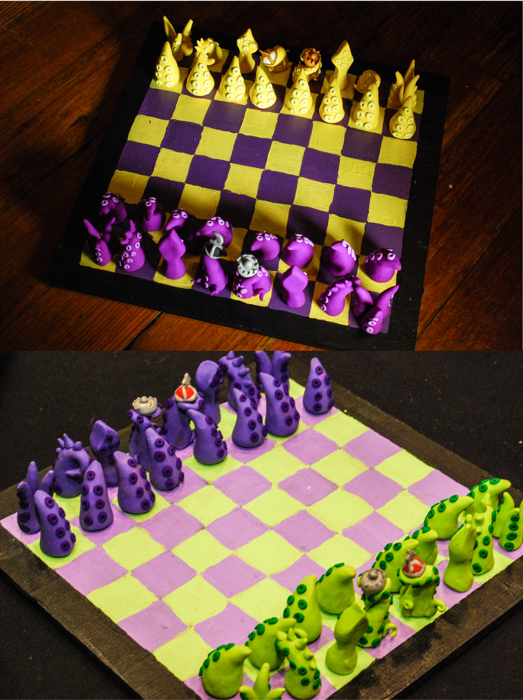 Tentacle Chess Board