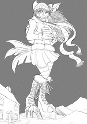 Winter Deliveries - Sketch