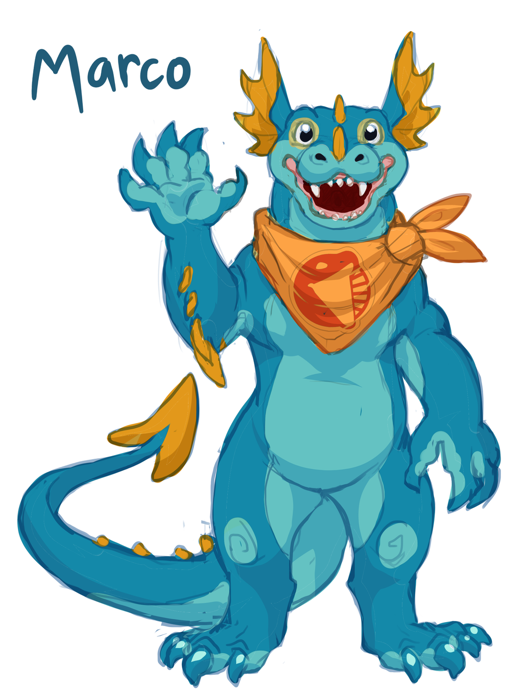 Scalesaurs Mascot Reference