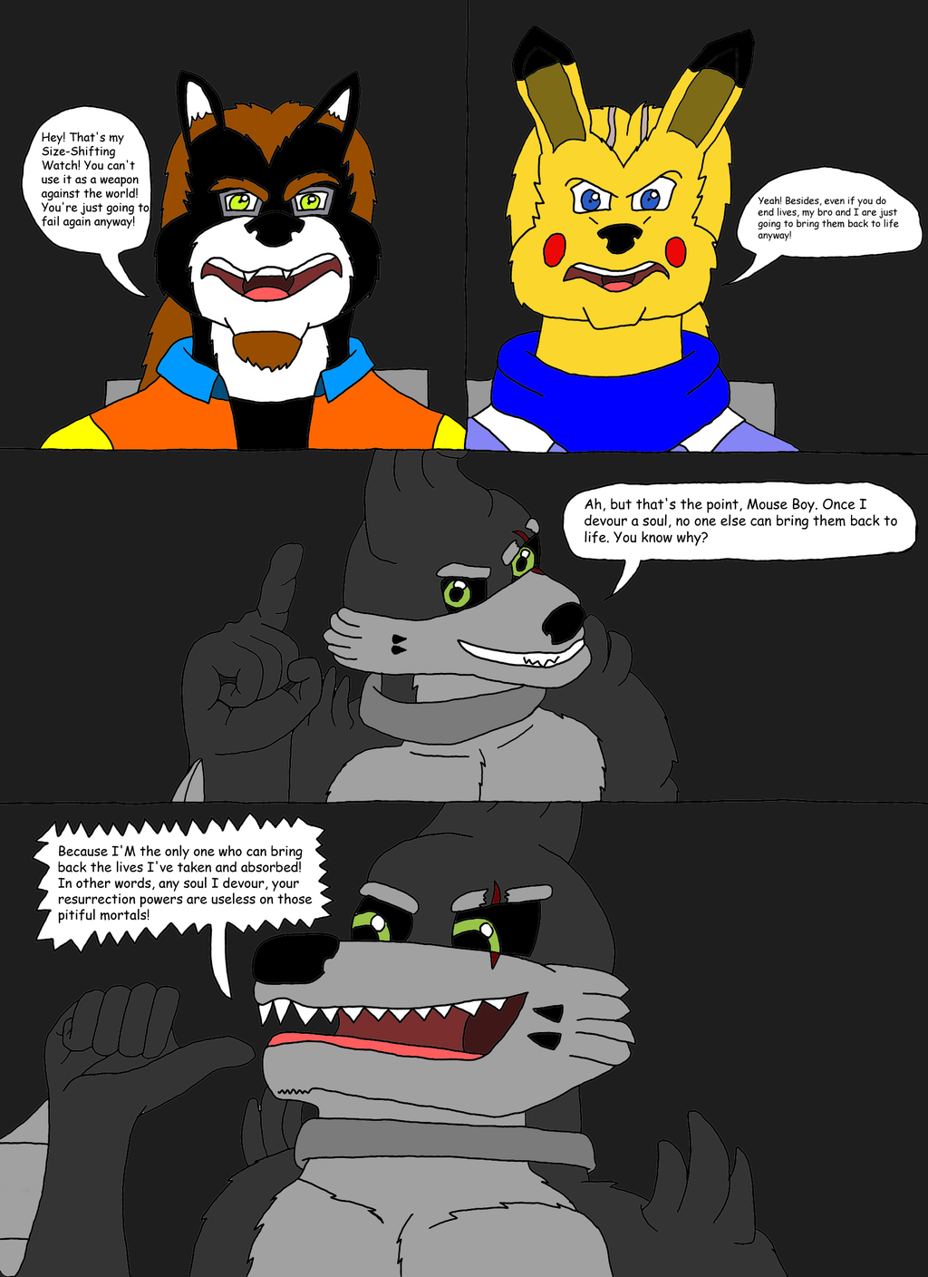 The Ginormous Misadventures (11/31)
