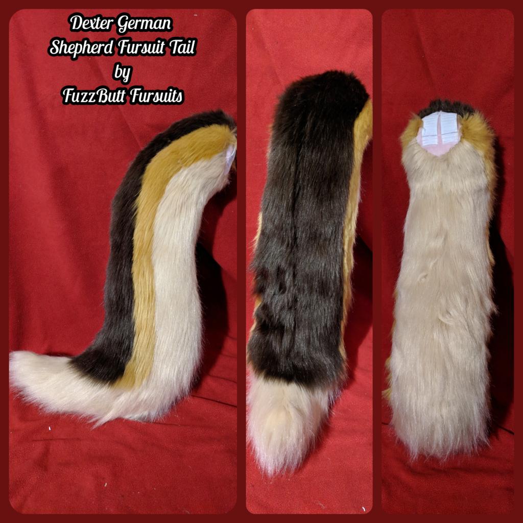 Dexter German Shepherd Fursuit Tail