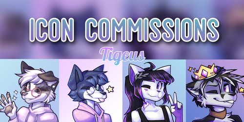 [P] Icon Commissions now OPEN!