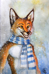 Fox and Scarf