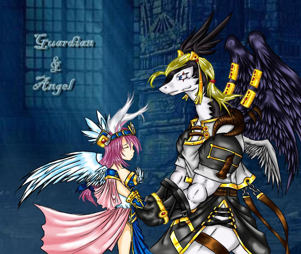 Guardian and Angel(old picture)