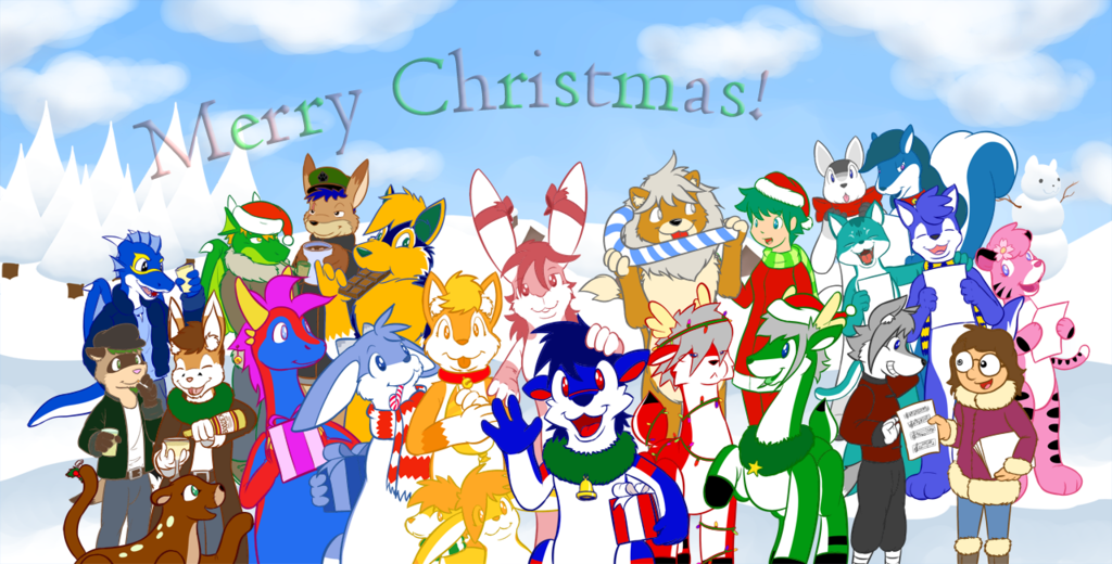 [Old Art] 2009 xmas picture by Rawr