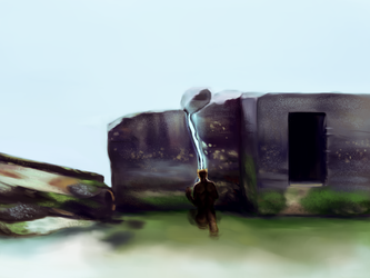 Free ych - Stone Ruins By BleakSteadtler