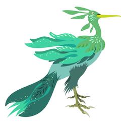 Sea dragon Heron
