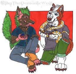 Zack and Nirou - Pets