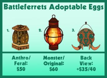 Egg Adoptables - OPEN - 2/3 Available!