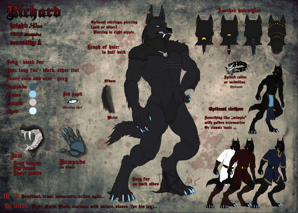 Richard's wolfy form - reference