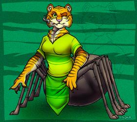 Tiger-Spidertaur (Commission)