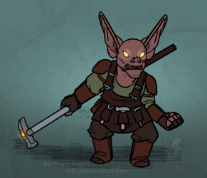 Goblin Cleric [Commission]