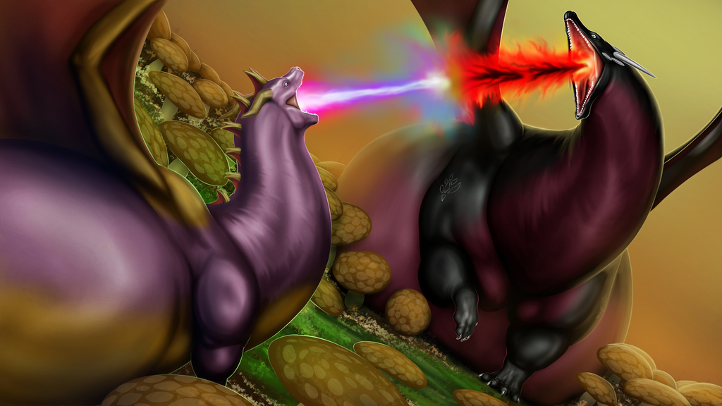 Bigger Fatter Cynder and Spyro