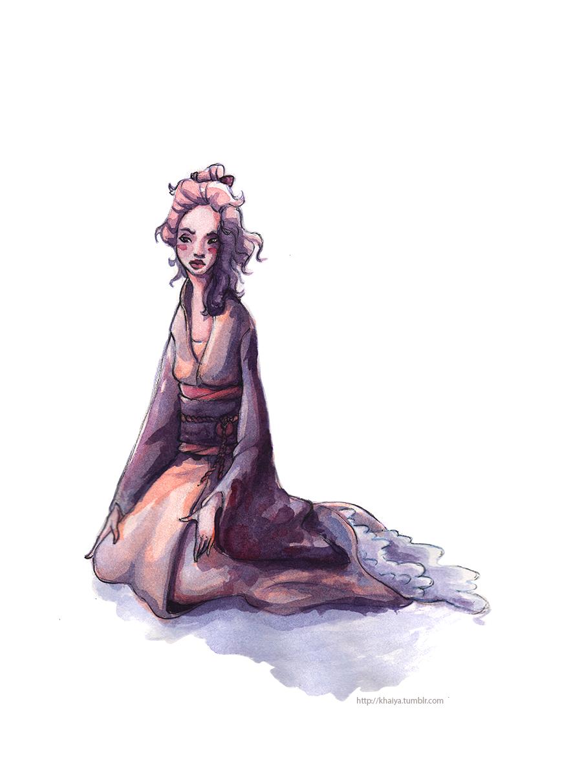 Most recent image: Tian Yi Watercolour