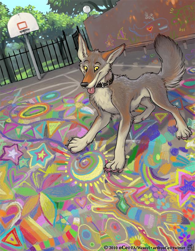 Most recent image: Chalk Dreams