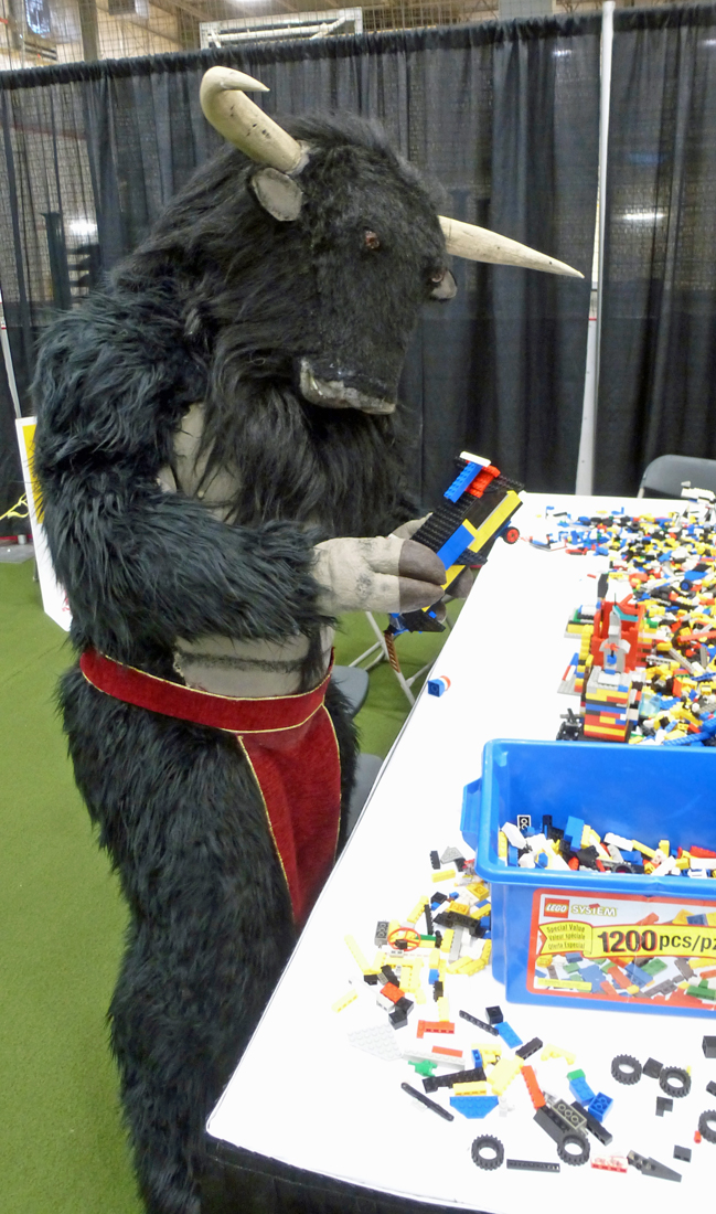 Lego with hooves is hard!