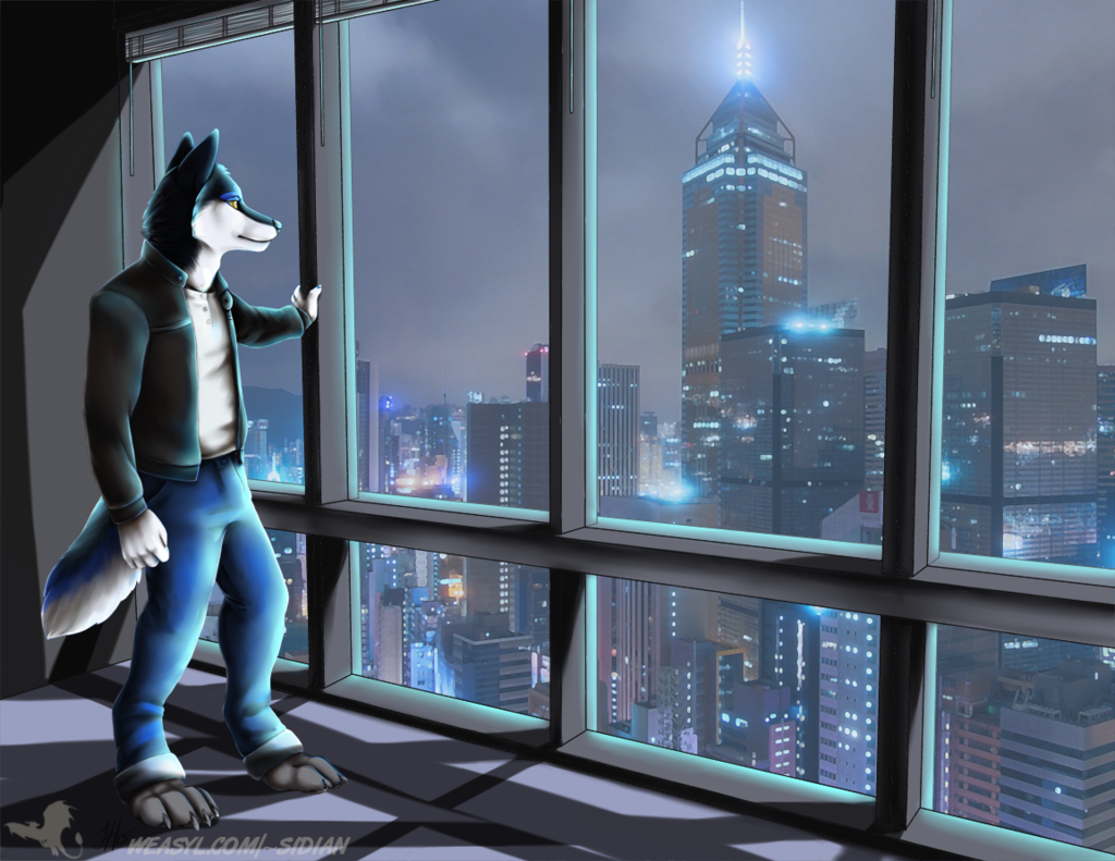 "Most recent image: Alpha State: ""Skyline"" by Sidian"