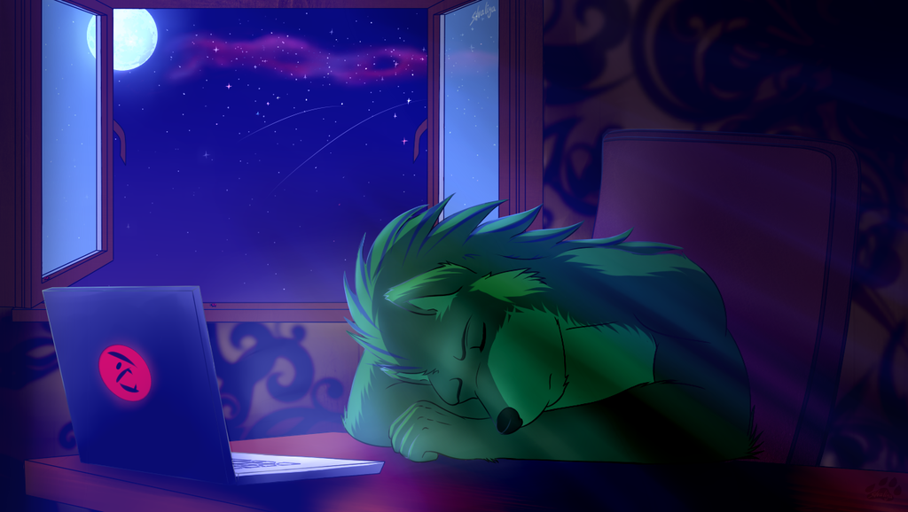 "Most recent image: Commission ""Sweet Dreams"""