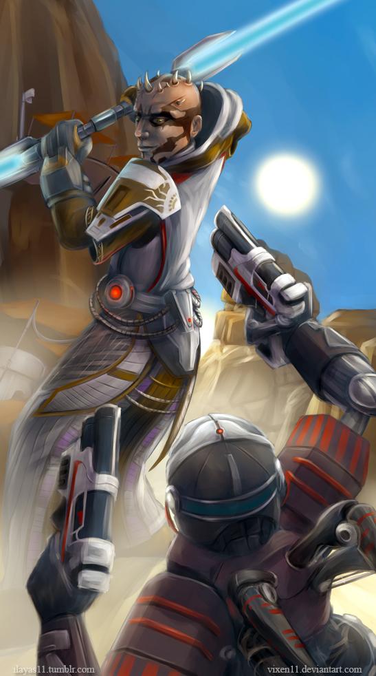 Battle on Tatooine