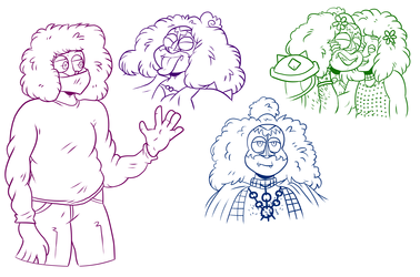 Some cute Gene sketches