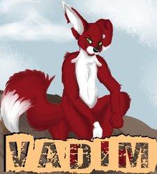Vadim digital painting badge