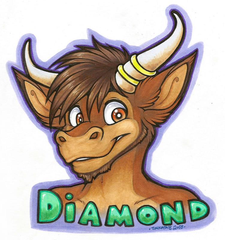 Diamond Badge (Commission)