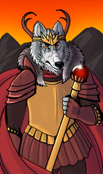 The Emperor Tarot Card  (new version)