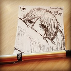 Work Doodles - Shoulder to Cry On