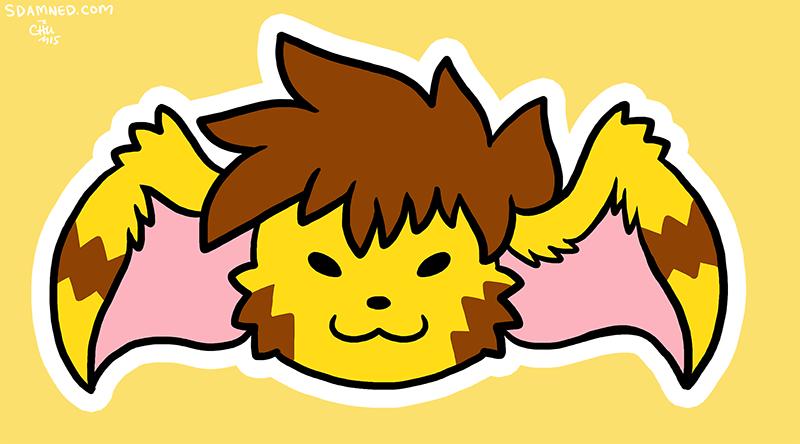 Goofy Rhea Head