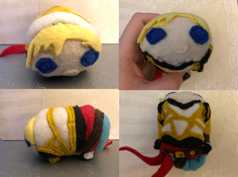 RWBY Jaune D'Arc stacking plush commission