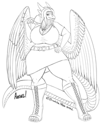 Angelic Vibes - Polished Sketch Example