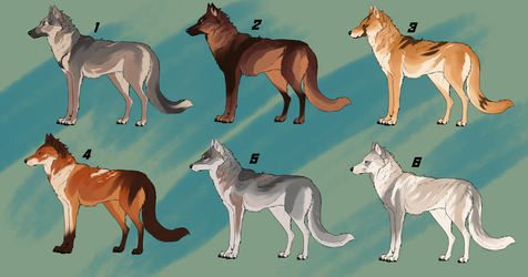Timberland Wolves Adopts [OPEN]
