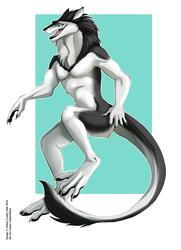 (SKETCH) COM #161 SilverWolf