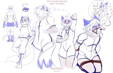 Scarlett Bandit Sketches