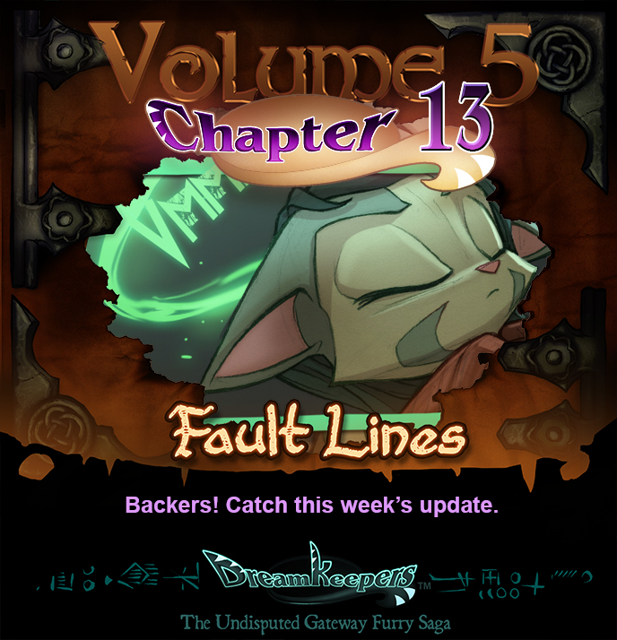 Volume 5 page 13 update announcement