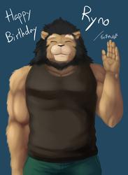Happy Birthday Ryno!