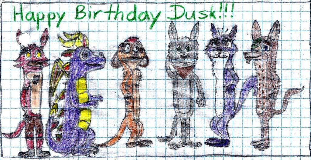 [Gift] Happy Birthday, Dusk Bro!