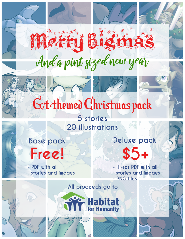Merry Bigmas: A Macro/Micro Holiday Art Pack