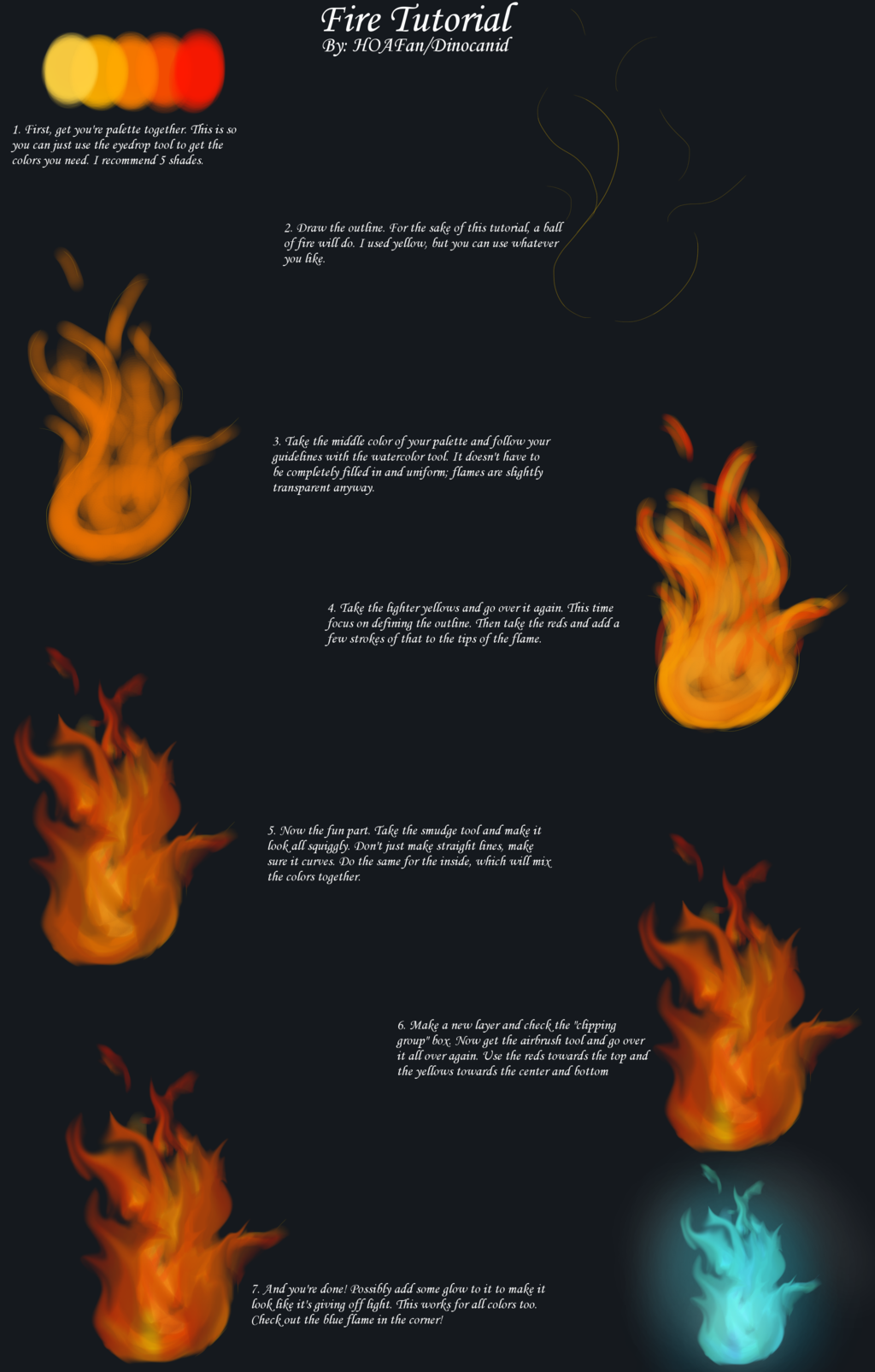 Fire Tutorial (Digital)